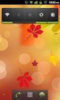 Screenshot of Autumn Leaves Fall Season