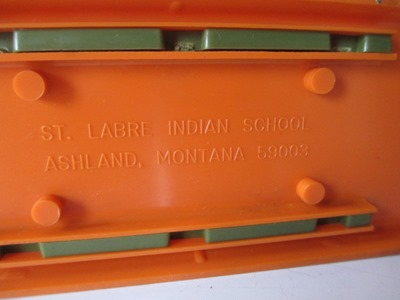 St Labre Indian School Objects Napkin Or Letter Holder Salt And