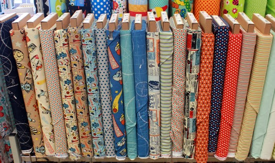Rocket Age fabric from Riley Blake now at The Fabric Mill