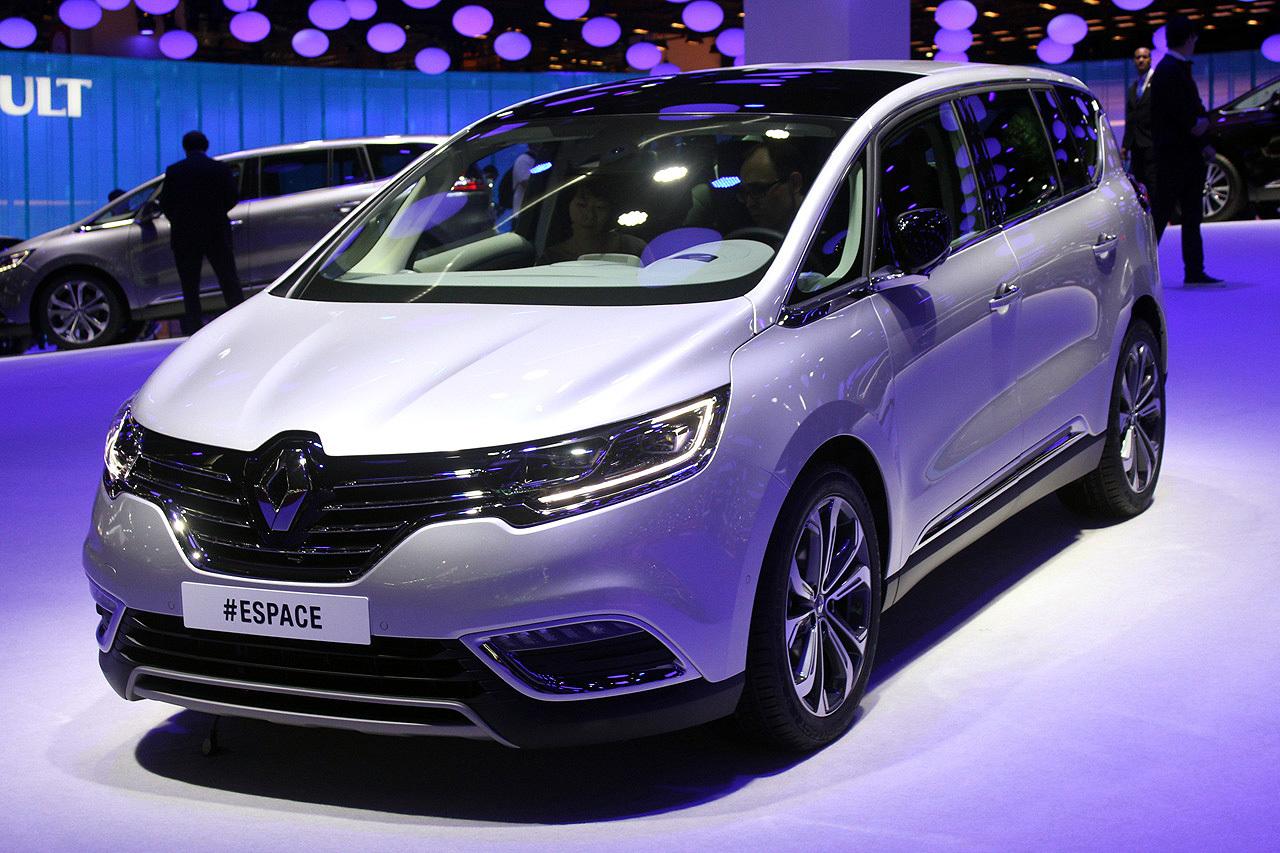 Yeni Renault Espace In Dunya Lansmani Paris Otomobil Fuari Nda