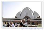 阿婷的不同角度看宗教世界-壯麗建築-印度新德里蓮花寺-巴哈伊信仰