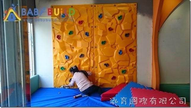 BabyBuild 兒童攀岩遊具完工清潔