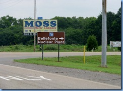 8543 US-72 East ,Trail of Tears Corridor, Alabama - Bellefonte Nuclear Plant sign