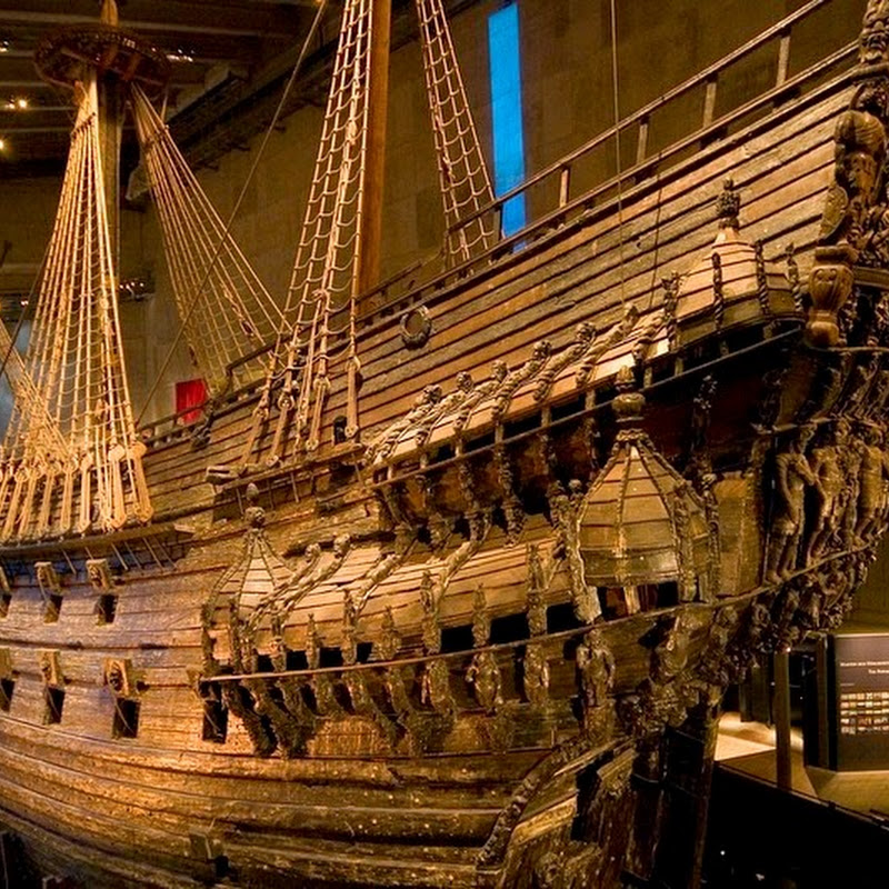 Vasa: A 17th Century Warship That Sank, Was Recovered And Now Sits in a Museum