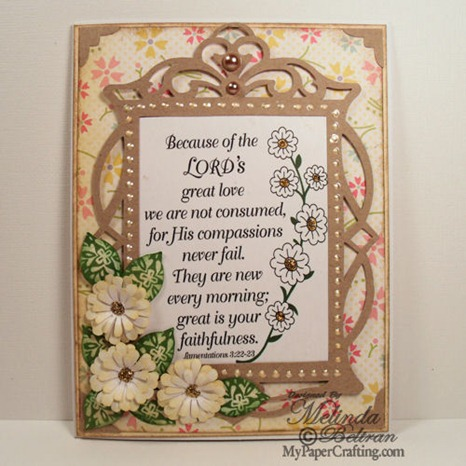 daisy new every morn card-500