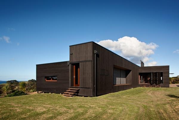 casa de madera en Tutukaka  Crosson Clarke Carnachan Architects