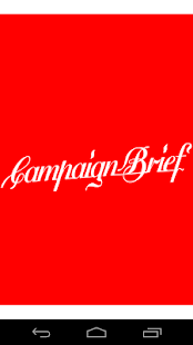 Campaign Brief Blog- screenshot thumbnail