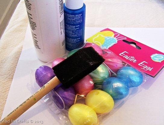 robins eggs materials