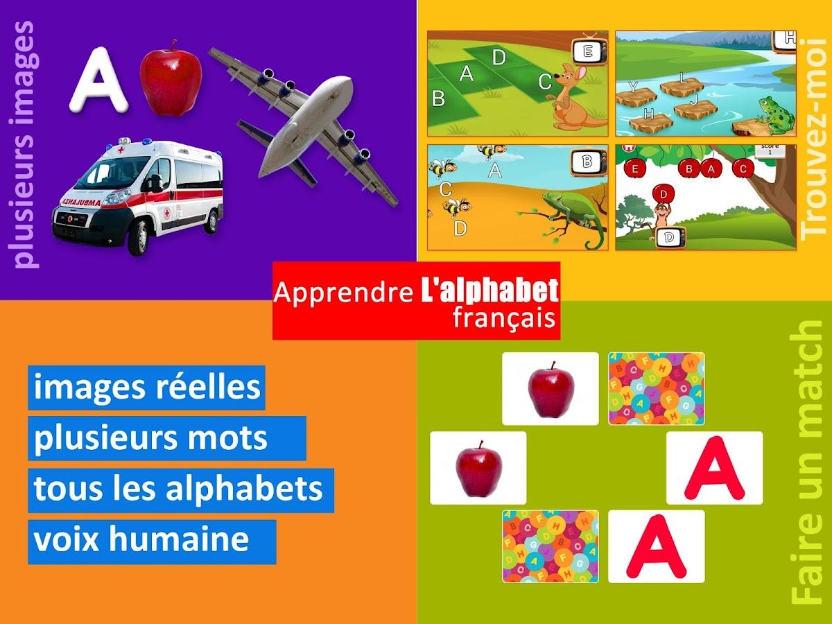 Bien-aimé Apprendre L'alphabet français – Applications Android sur Google Play FW94