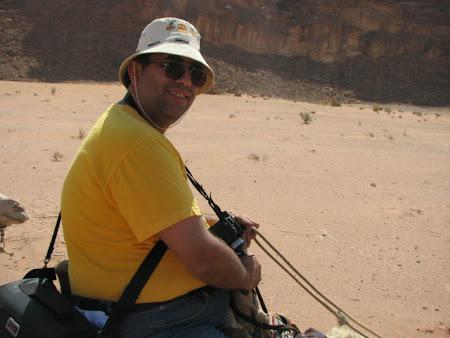 Imagini Wadi Rum: Imperator pe camila