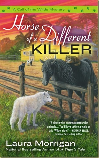 Horse of a Different Killer by Laura Morrigan