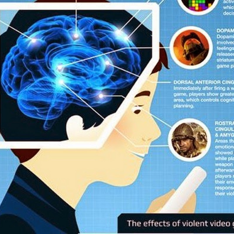 The Neurology of Gaming [Infographic].