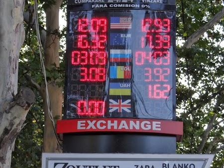 Casa schimb valutar Chisinau