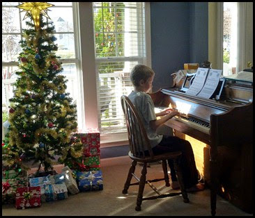 05 - Daniel Playing the Piano