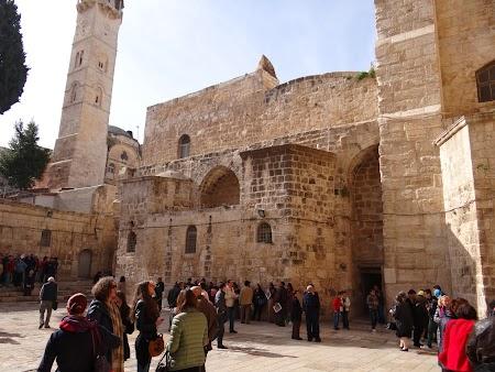 Imagini Palestina: Biserica Invierii Ierusalim
