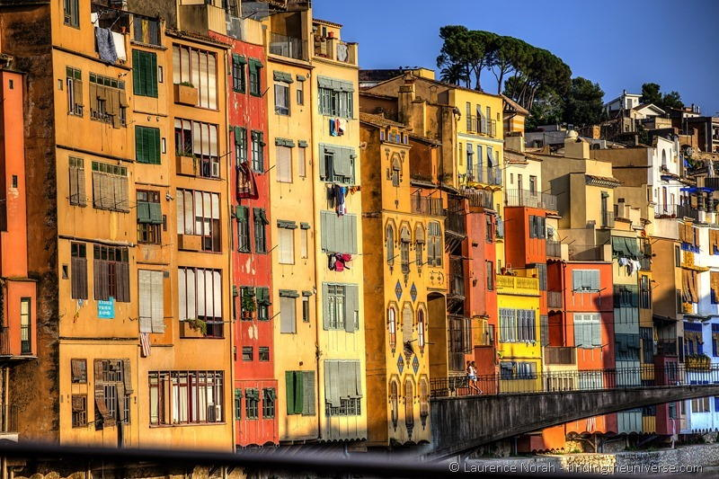 Colourful houses of Girona