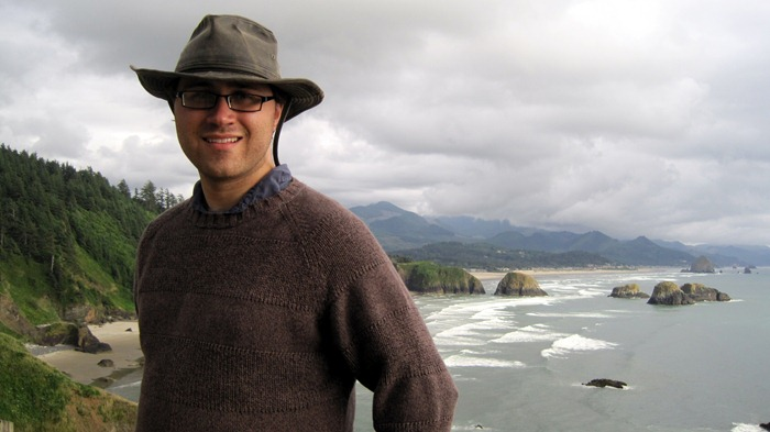 Taylor at Ecola State Park
