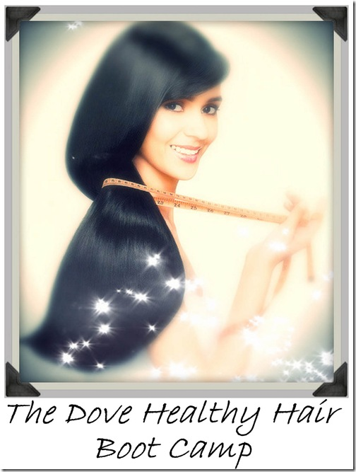 The Dove Healthy Hair Boot Camp