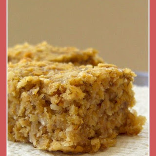 Super Banana Oat Bars Recipe