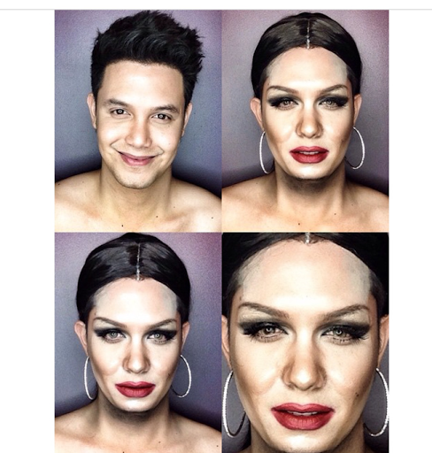 PHOTOS: Dad Transforms Himself Into Celebrities Using Makeup And Wigs 33