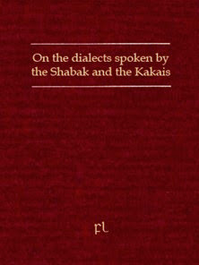 On the dialects spoken by the Shabak and the Kakais Cover