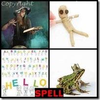SPELL- 4 Pics 1 Word Answers 3 Letters