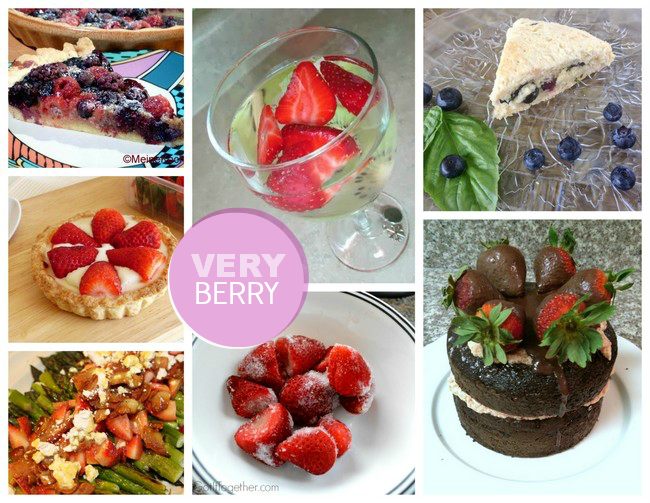Very Berry | Berry Inspiration via homework - carolynshomework.com