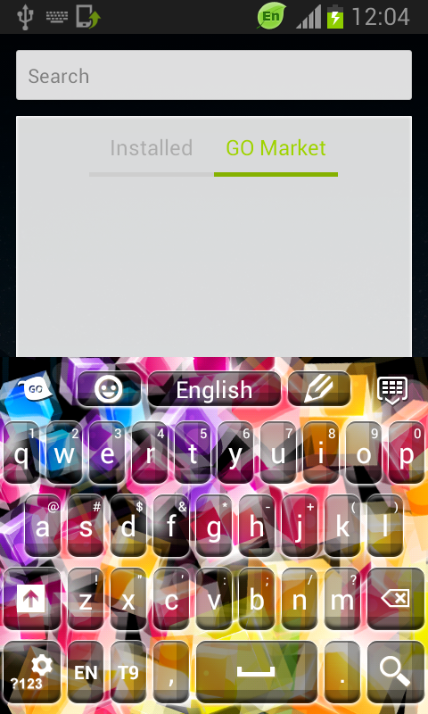 Keyboard Color Chooser - screenshot