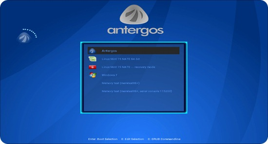 GRUB2-Theme-Antergos-Bluez_1
