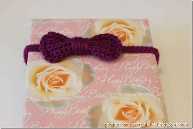 Crochet Bow Headband Pattern