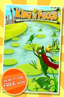 King of Frogs Puzzle Pond - screenshot thumbnail