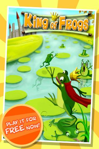 King of Frogs Puzzle Pond- screenshot