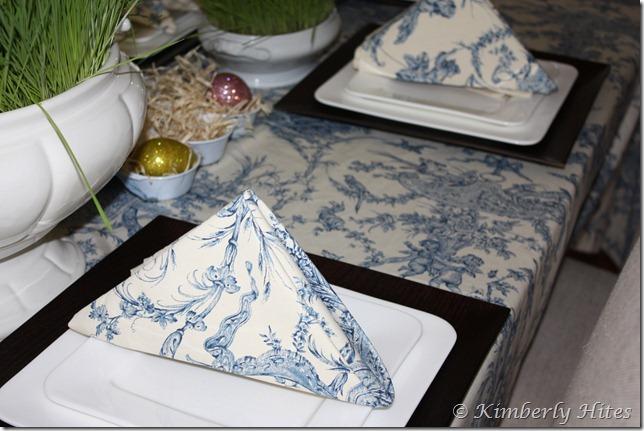 Kim Hites French Country Antiques Interiors Napkin