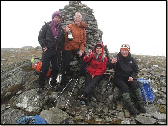 Carn Dearg summit - 941 metres
