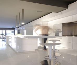 diseño cocina minimalista