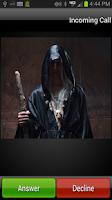 Screenshot of Ghost Prank Call