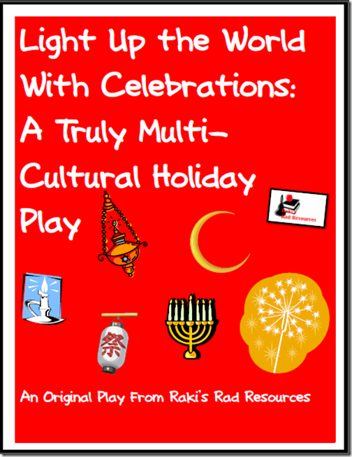 Multicultural Holiday Play - Free download from Raki's Rad Resources