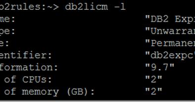 How to check the db2 version | SQL Panda