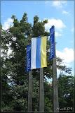 Flaggen zur 200Jahrefeier in Mariánské Lázně