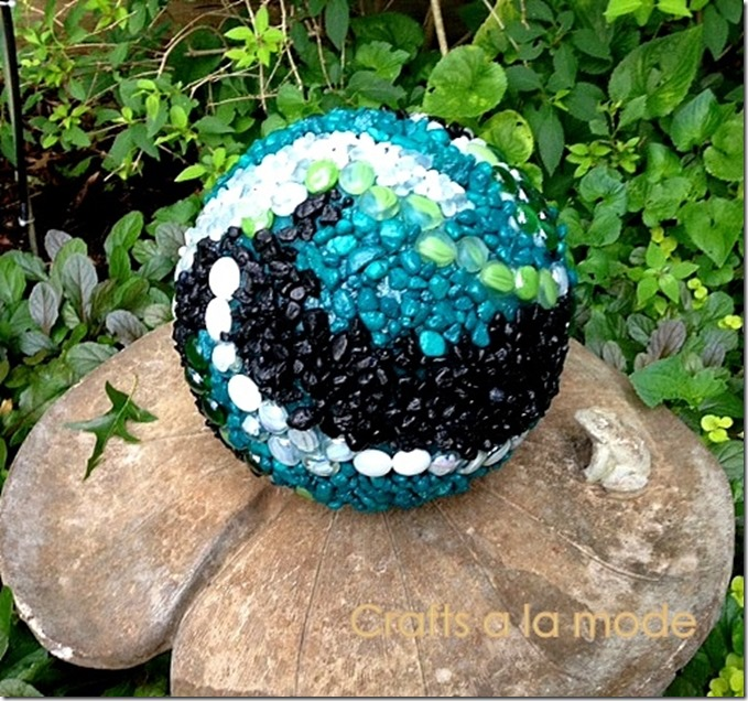 finished ball for garden