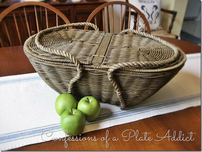 CONFESSIONS OF A PLATE ADDICT Pottery Barn Picnic Basket