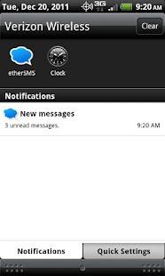 etherSMS- screenshot thumbnail