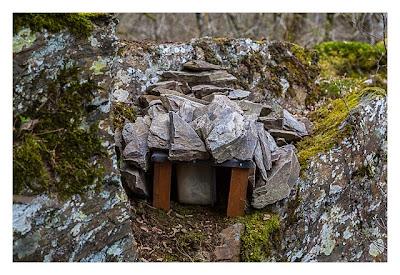 Ältester Geocache Deutschlands - Dose mit Dach