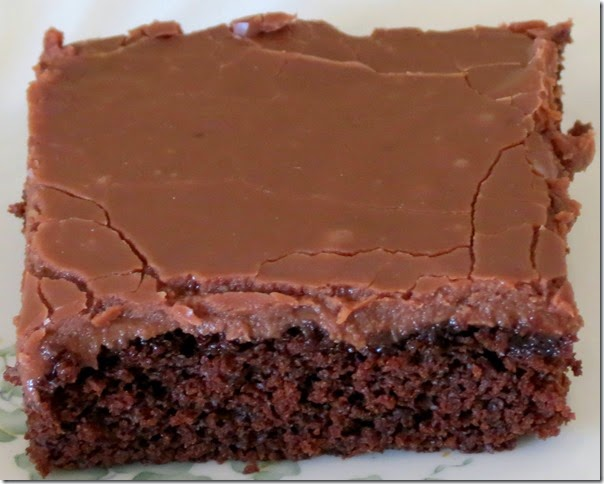 Baking And Boys!: Chocolate Texas Sheet Cake