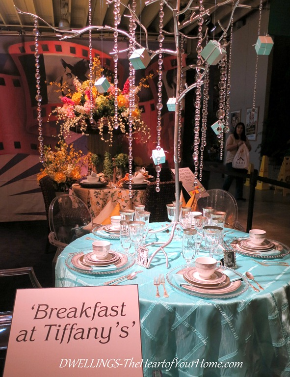 Southern Spring Show breakfast at tiffany's
