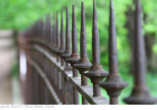 'Pointy fence posts' photo (c) 2011, Chris Waits - license: http://creativecommons.org/licenses/by/2.0/