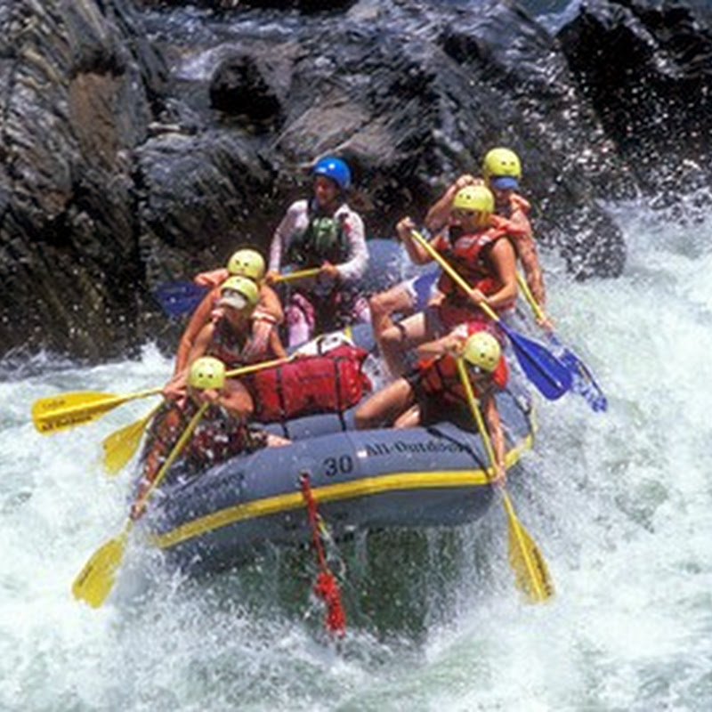 5 best places for rafting in Argentina.