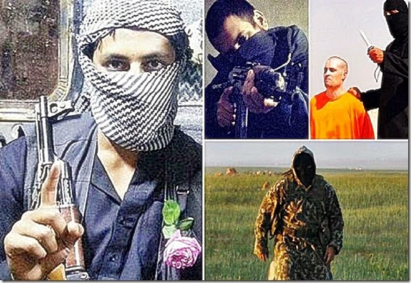 Abu Abduallah al-Britani. An ISIS terrorist involved in Foley murder