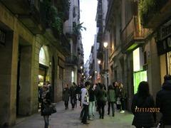 Ла Рабла  центральная пешеходная улица Барселоны