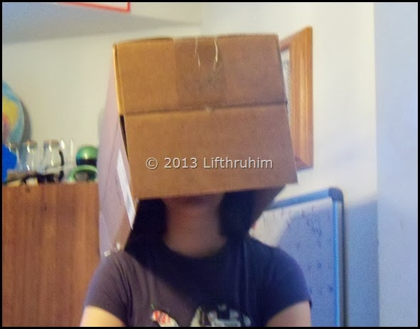 Turtle girl thinking Inside the Box